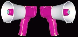 double megaphone